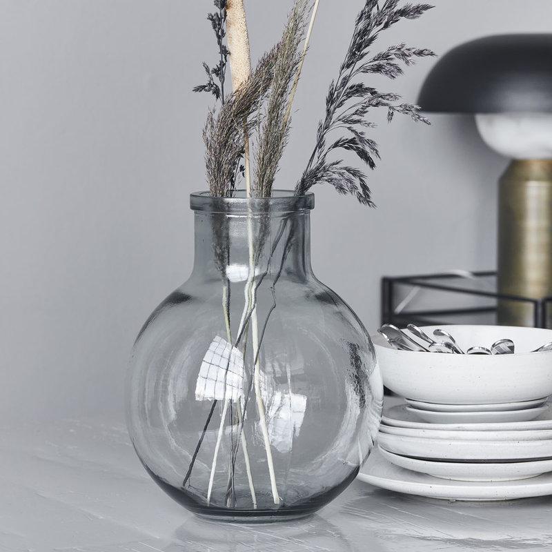 House Doctor-collectie Vaas Aran helder glas
