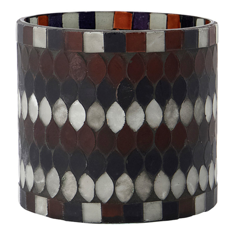 House Doctor-collectie Tealight holder Mosa Brown