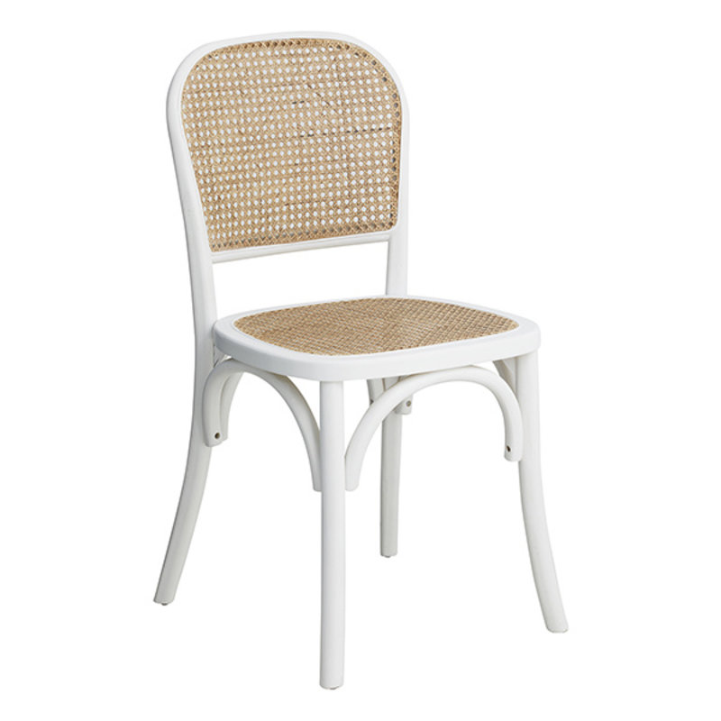 Nordal-collectie WICKY chair, white