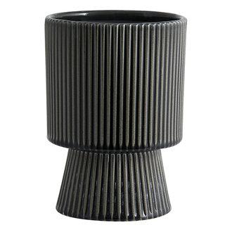 Nordal MULL pot, L, dark green