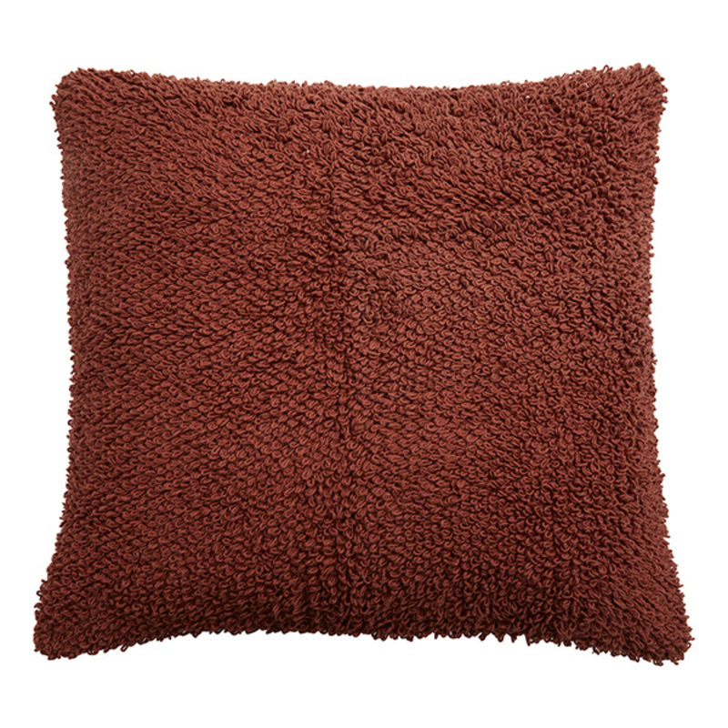 Nordal-collectie LYRA cushion cover,L knitted, terracotta