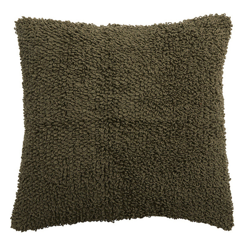 Nordal-collectie LYRA cushion cover, S, knitted, olive