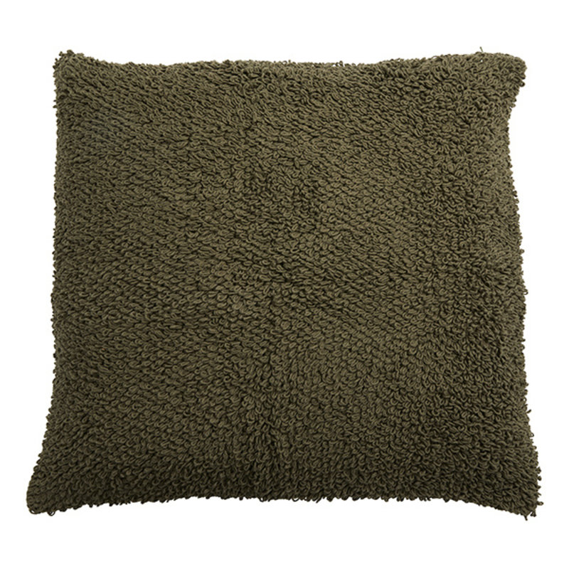 Nordal-collectie LYRA cushion cover, L, knitted, olive