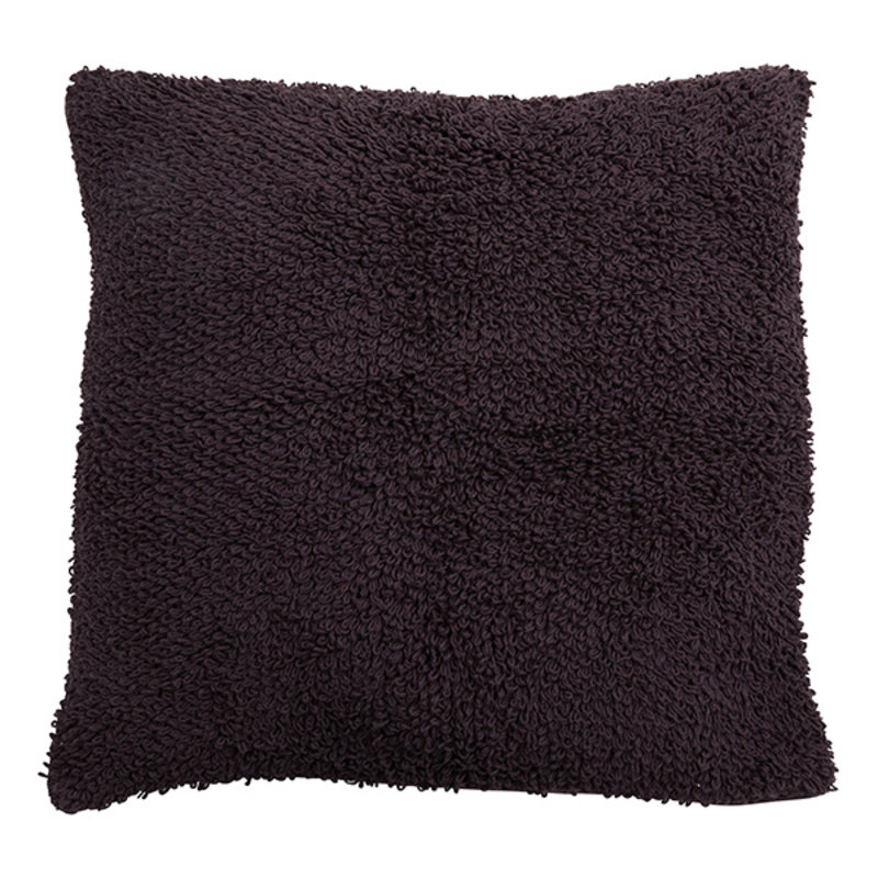 Nordal-collectie LYRA cushion cover, L, knitted, burgundy