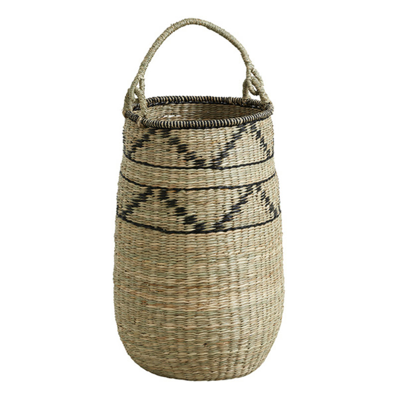 Nordal-collectie TROGIR basket w. handle, S, Nature