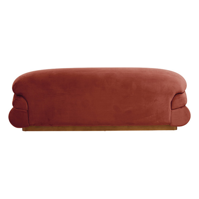 Nordal-collectie SOF sofa, rust red