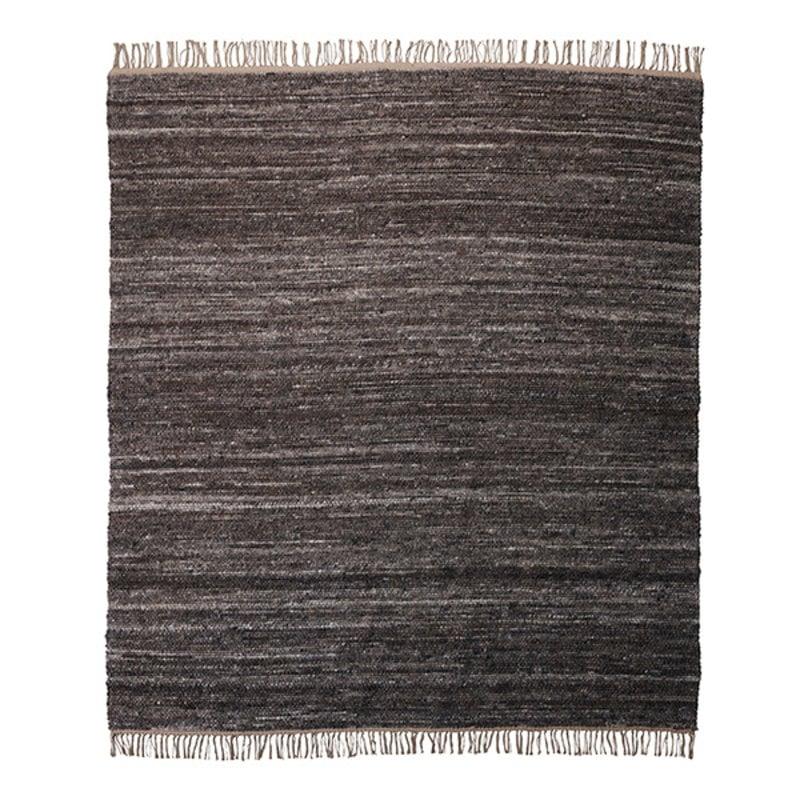 House Doctor-collectie Vloerkleed Hafi Bruin 250x250 cm