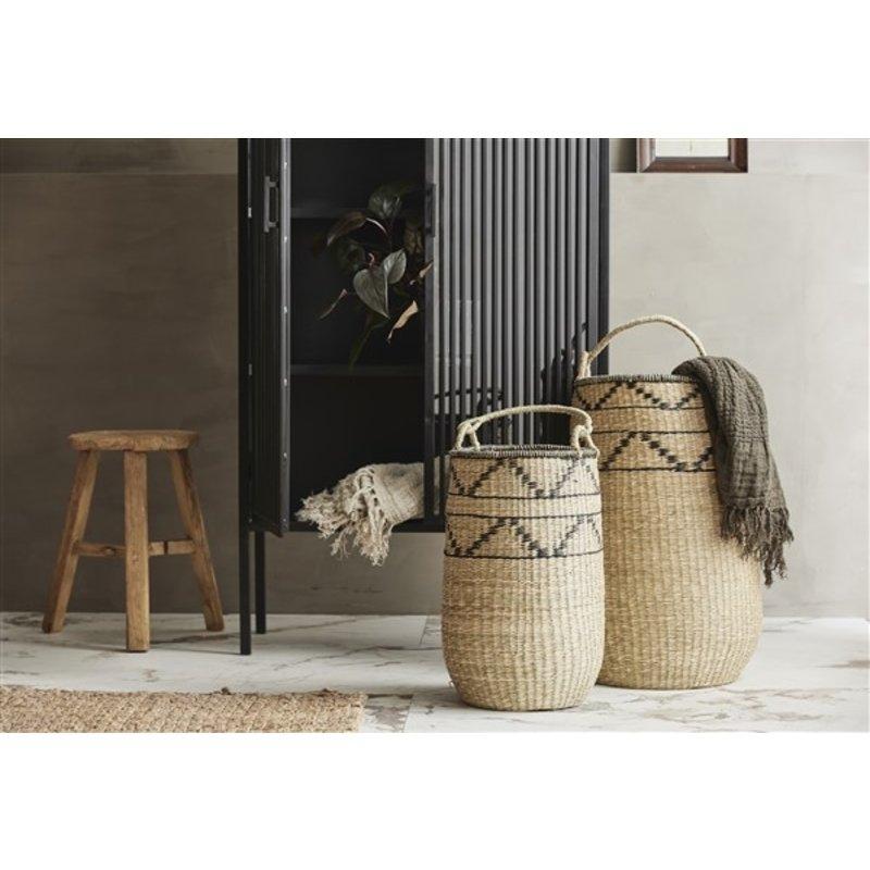 Nordal-collectie TROGIR basket w. handle, L, nature