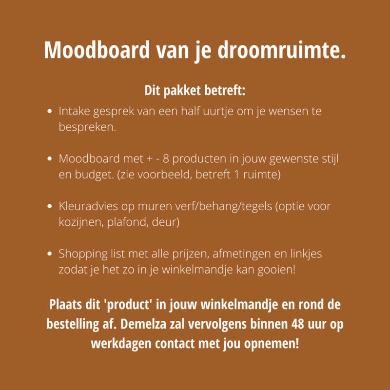Moodboard voor je droomruimte