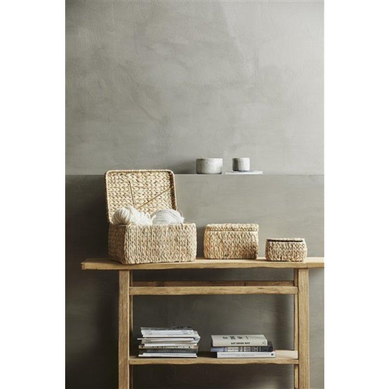 Nordal-collectie GRINA jar, medium, brown marble