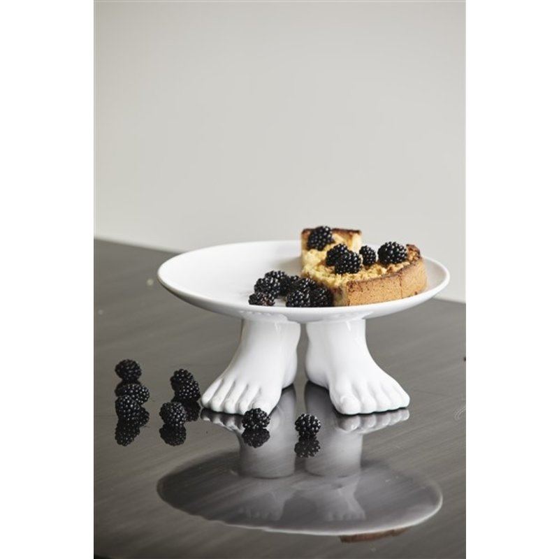 Nordal-collectie CICELY cake stand, white