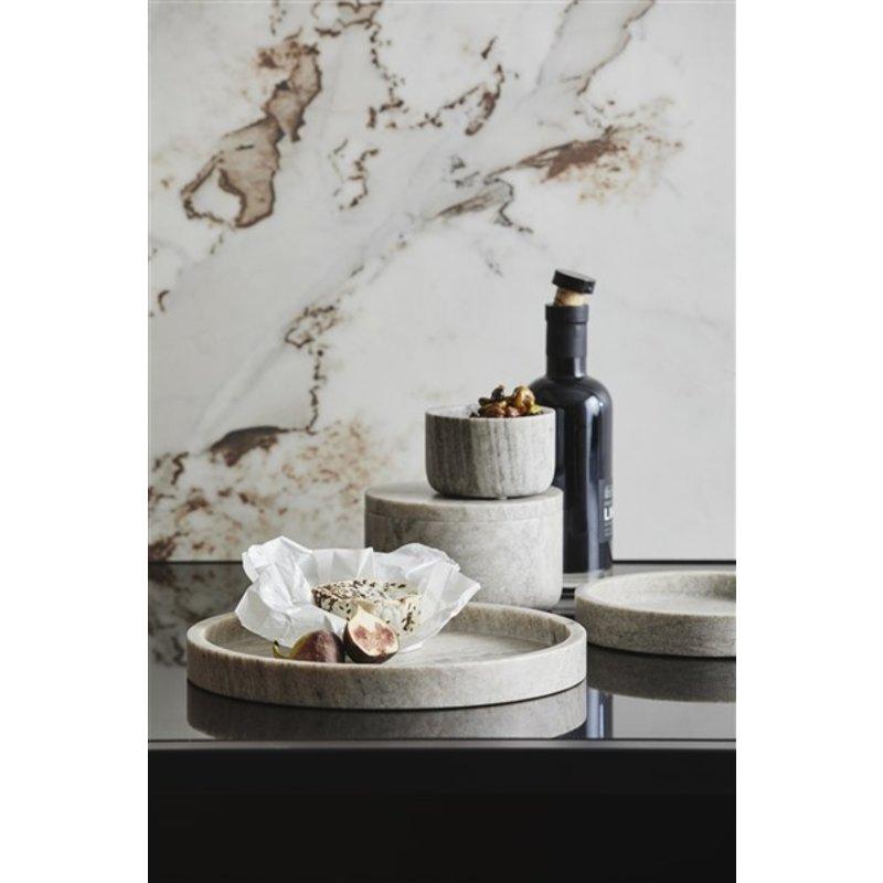 Nordal-collectie Marmeren schaal VINGA lichtbruin L
