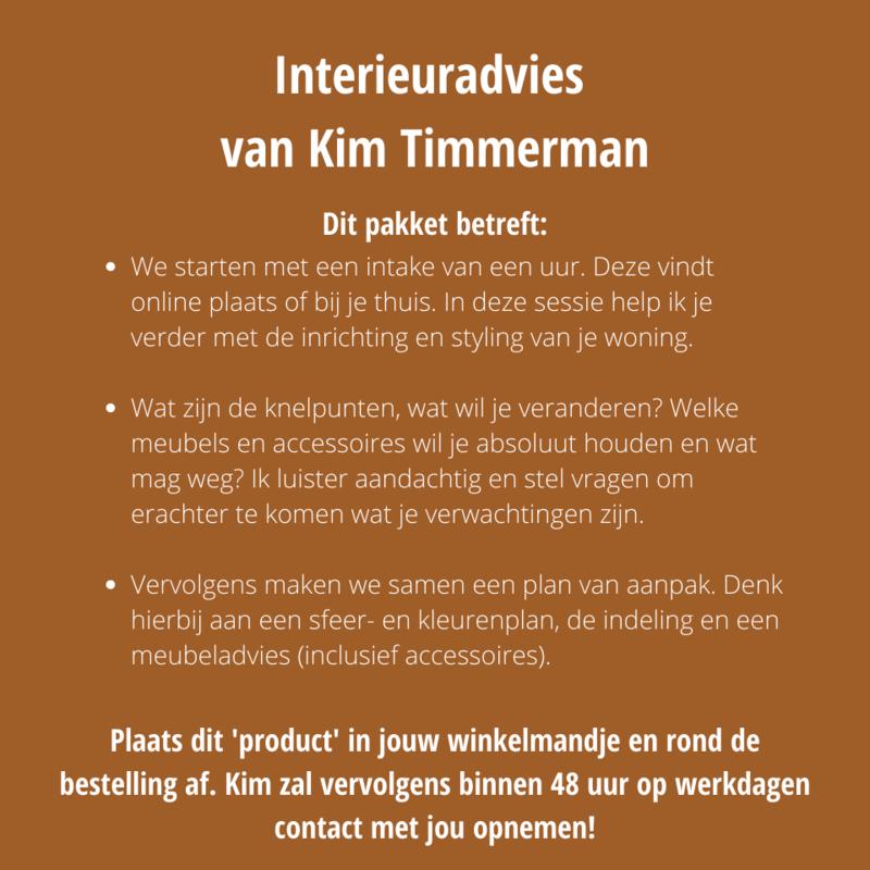 Een uur interieuradvies van Kim
