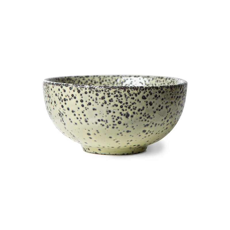 HKliving-collectie gradient ceramics: bowl green (set of 4)