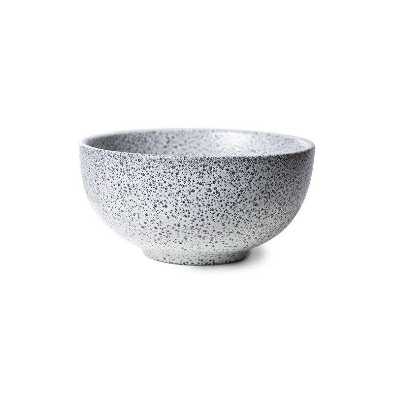 HKliving-collectie gradient ceramics: bowl cream (set of 4)