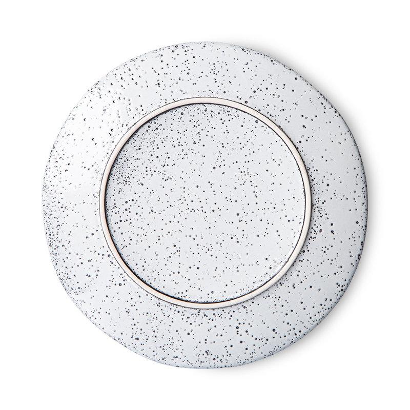 HKliving-collectie gradient ceramics: side plate cream (set of 2)