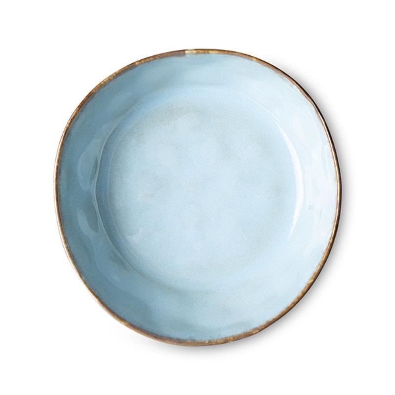 HKliving-collectie 70s servies pasta schaal lagune (set van 2)