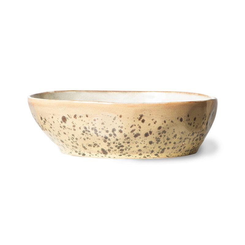 HKliving-collectie 70s ceramics: pasta bowls, tiger (set of 2)