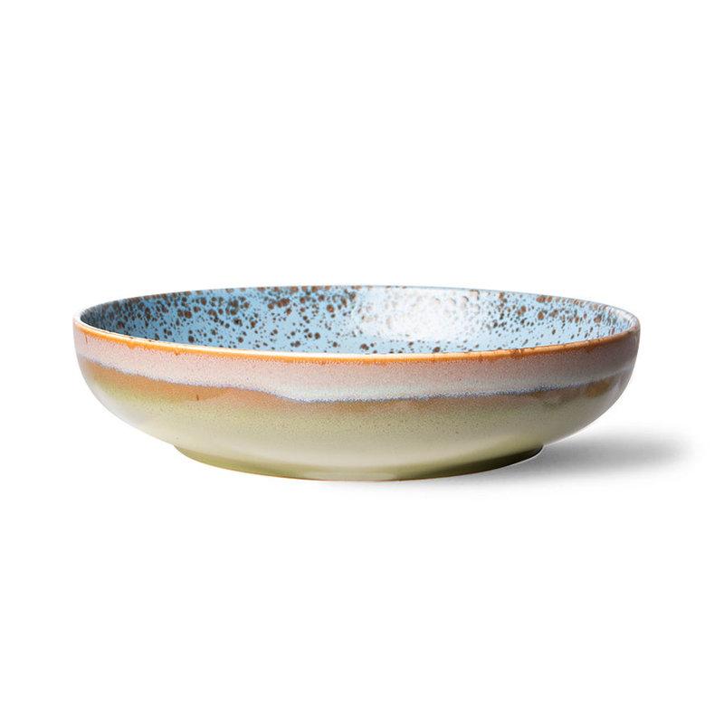 HKliving-collectie 70s ceramics: salad bowl, peat