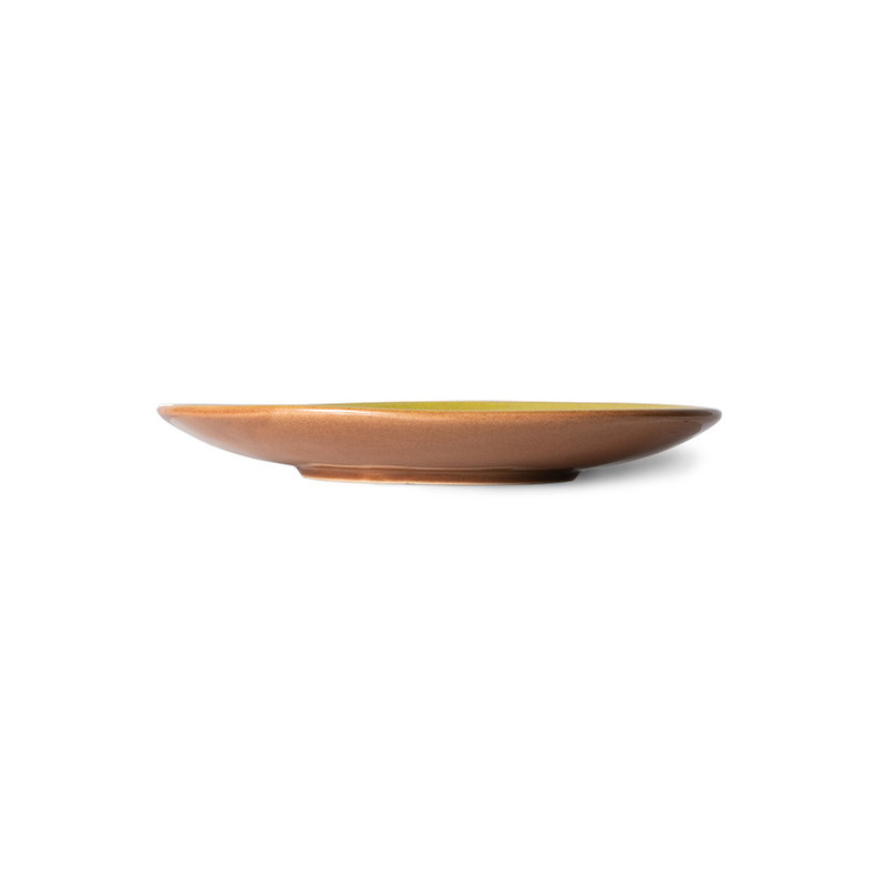 HKliving-collectie 70s ceramics: dessert plates, eclipse (set of 2)