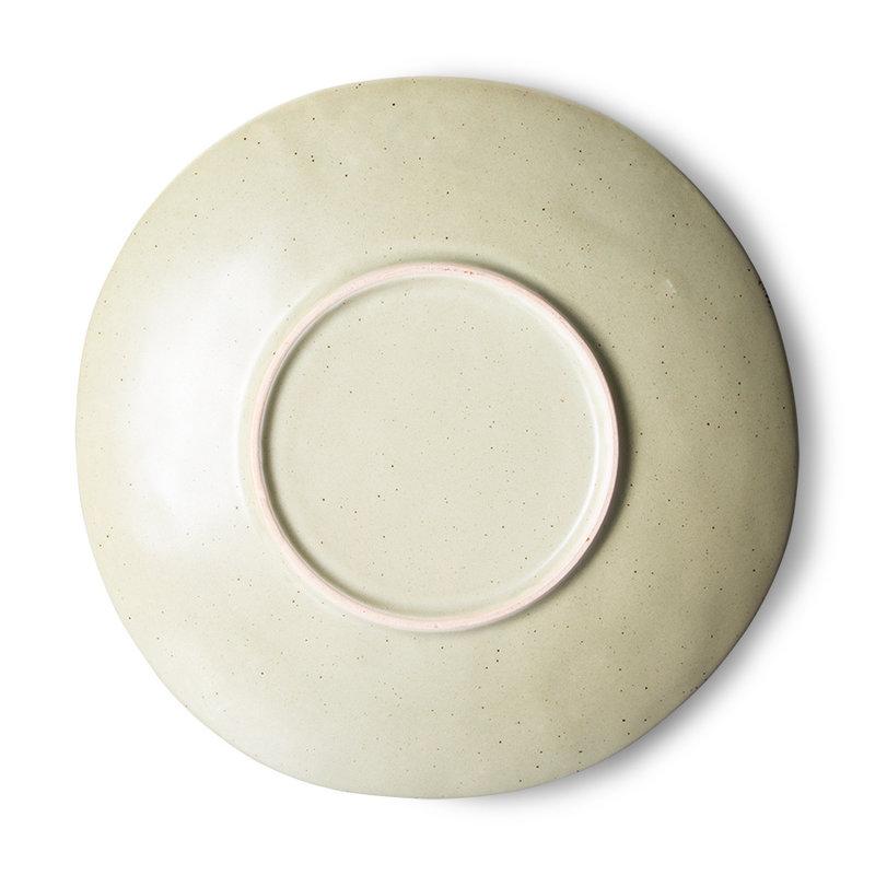 HKliving-collectie 70s servies bijgerecht borden pistachio (set van 2)