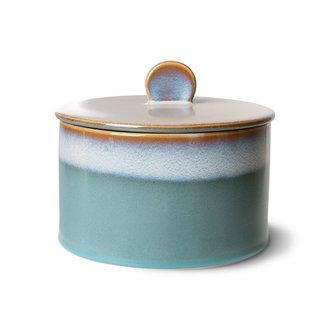 HKliving 70s ceramics: cookie jar, dusk
