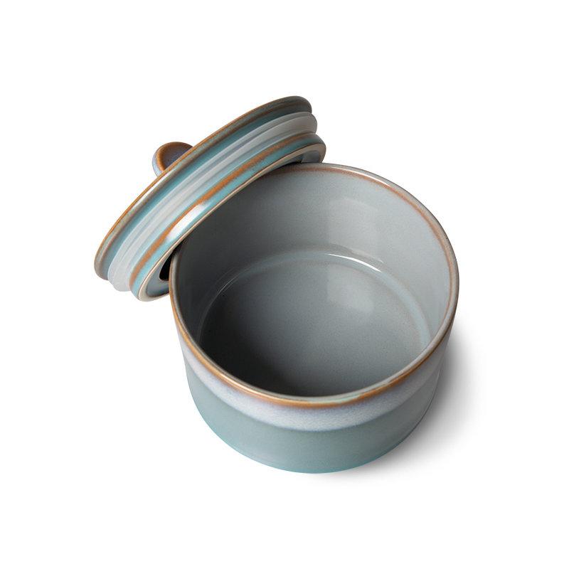 HKliving-collectie 70s servies koekjespot dusk