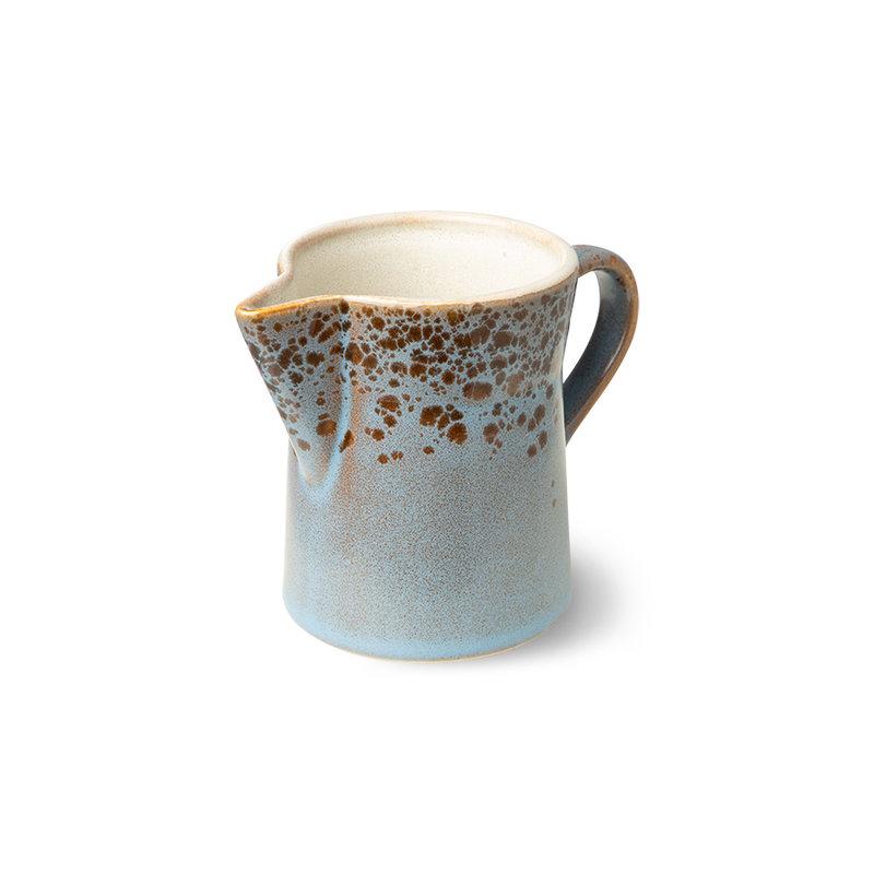 HKliving-collectie 70s servies milk jug & sugar pot berry/peat