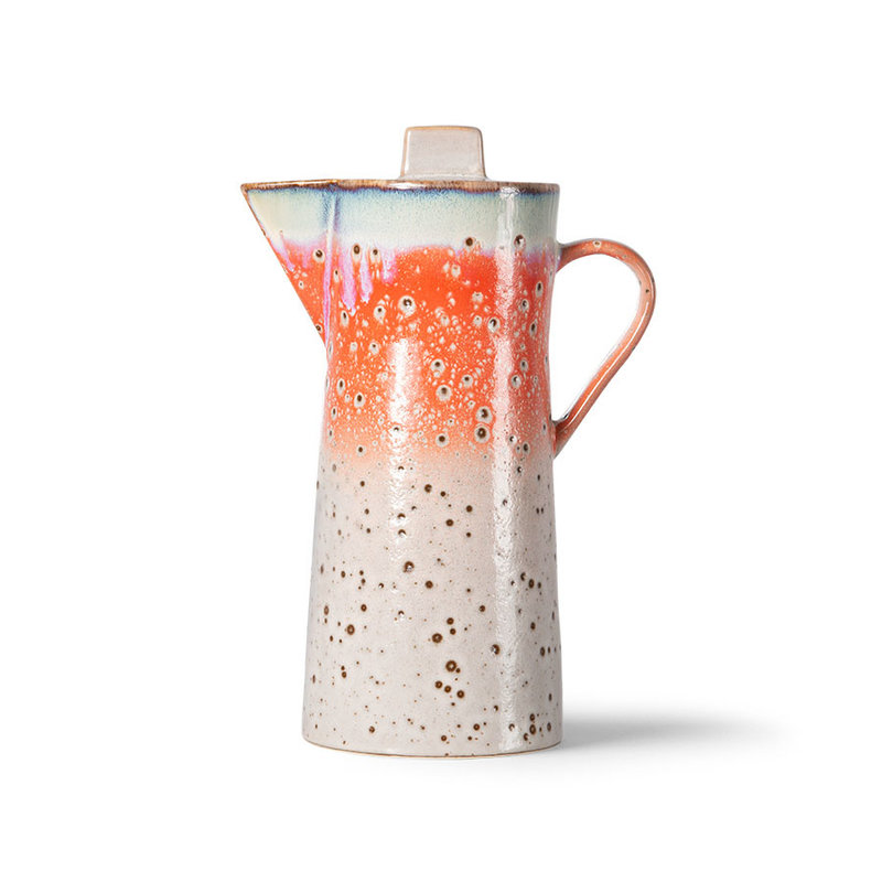 HKliving-collectie 70s servies koffiepot asteroids