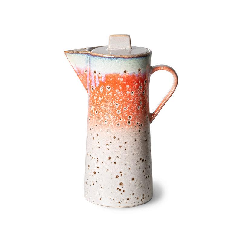 HKliving-collectie 70s ceramics: coffee pot, asteroids