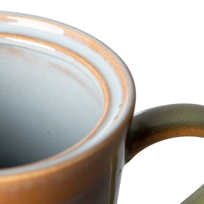 HKliving-collectie 70s servies theepot peat