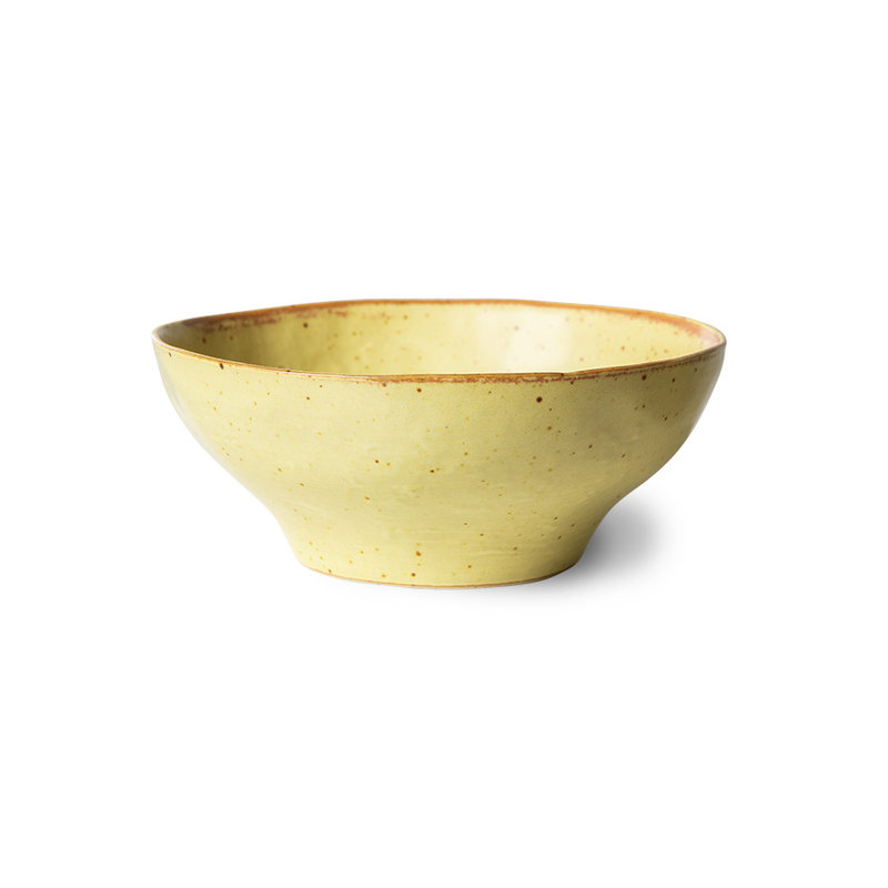 HKliving-collectie bold & basic ceramics: small bowl mixed colours (set of 4)