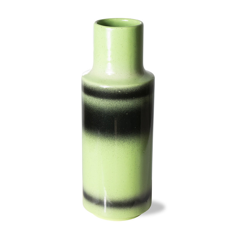 HKliving-collectie the emeralds: ceramic vase green