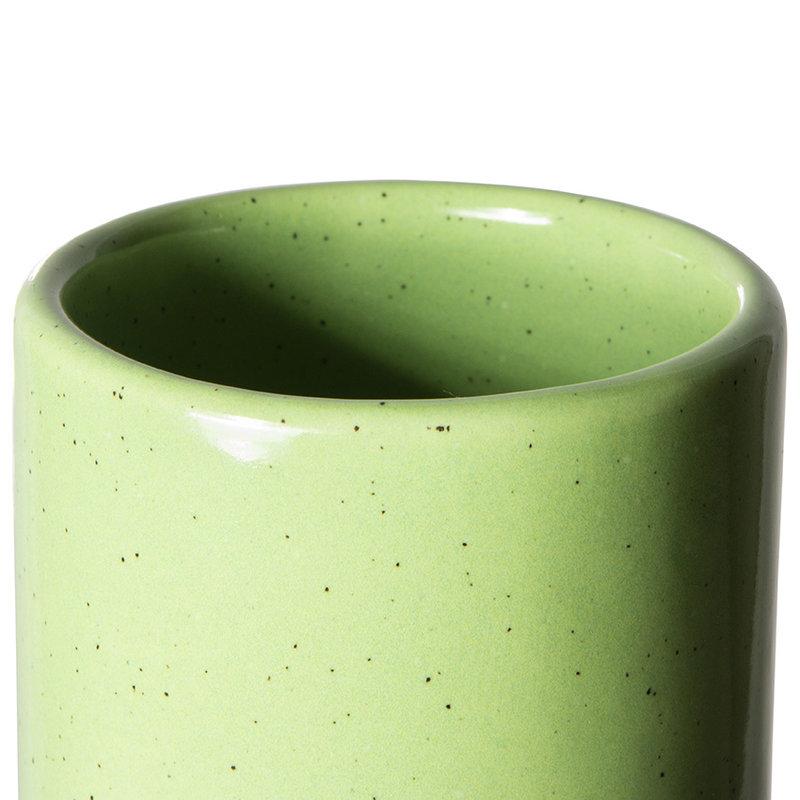 HKliving-collectie The emeralds keramiek vaas groen