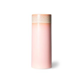HKliving 70s ceramics vaas XS roze