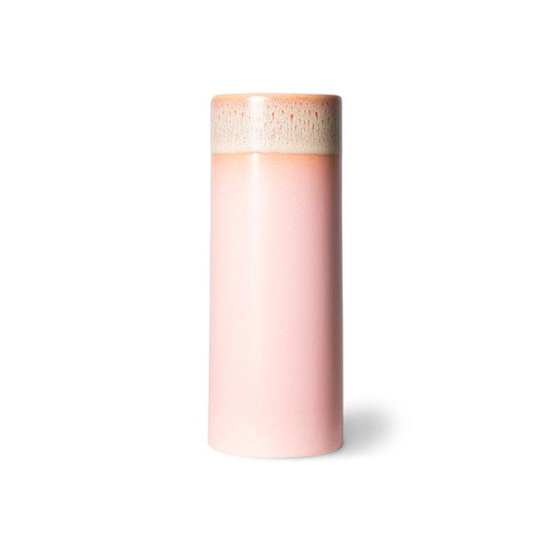 HKliving-collectie 70s ceramics vaas XS roze