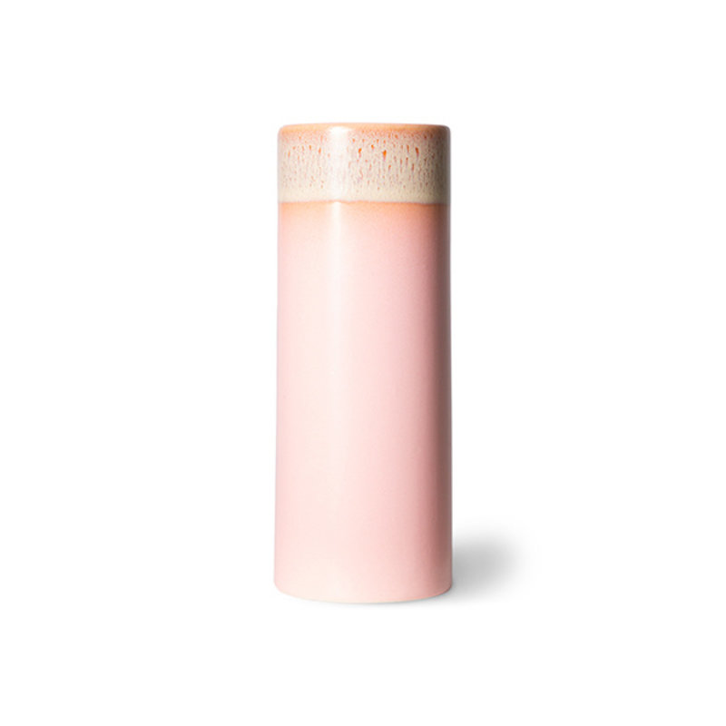 HKliving-collectie 70s ceramics: vase XS, pink