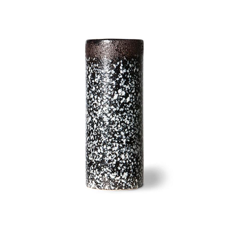 HKliving-collectie 70s ceramics: vase XS, mud