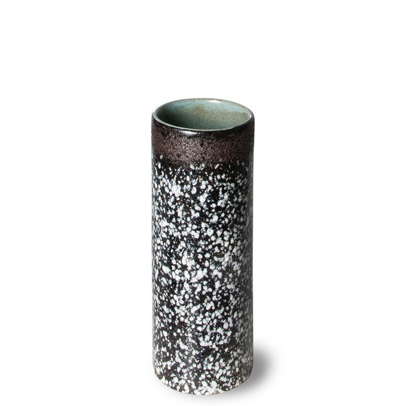 HKliving-collectie 70s ceramics vaas XS mud