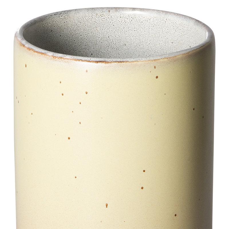 HKliving-collectie 70s ceramics: vase M, venus