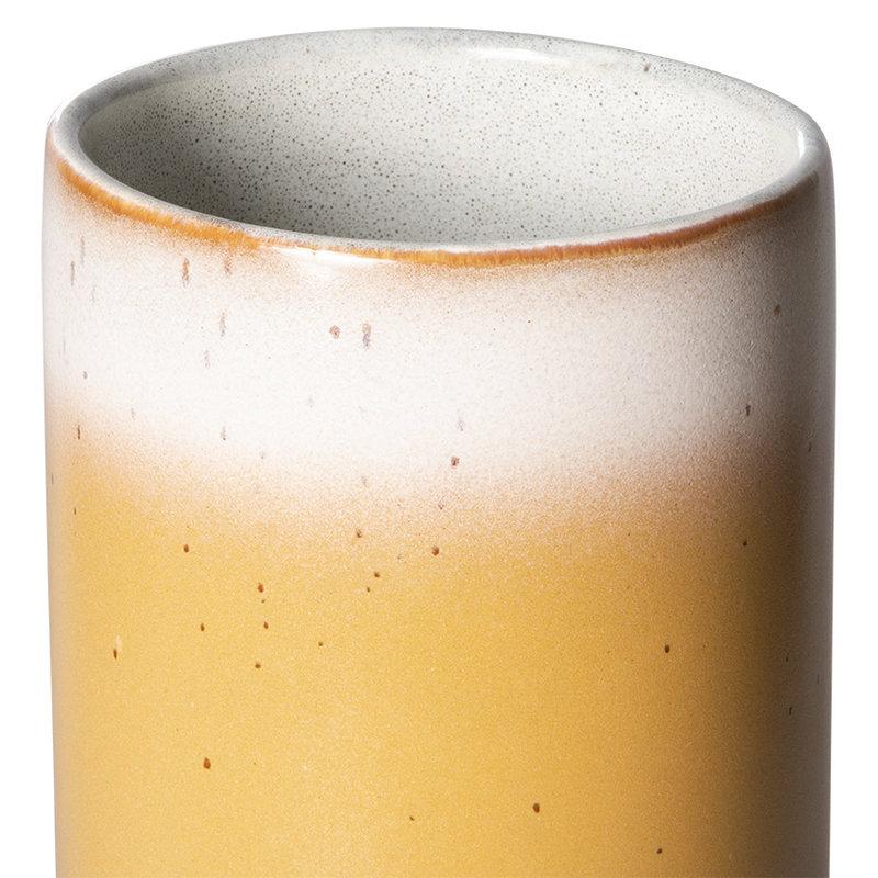 HKliving-collectie 70s ceramics: vase M, grain