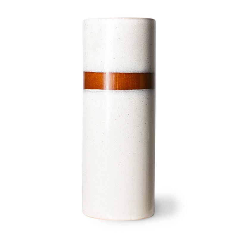 HKliving-collectie 70s ceramics vaas L snow