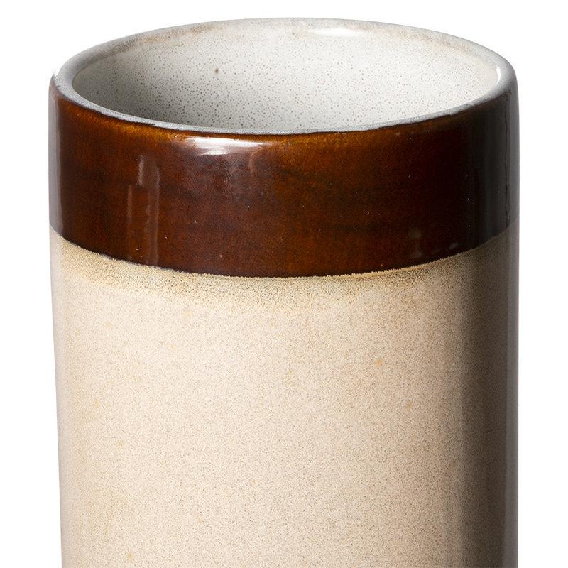 HKliving-collectie 70s ceramics: vase L, dunes