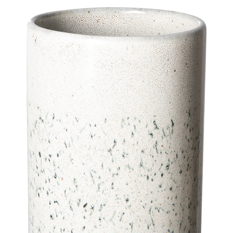 HKliving-collectie 70s ceramics: vase XL, hail