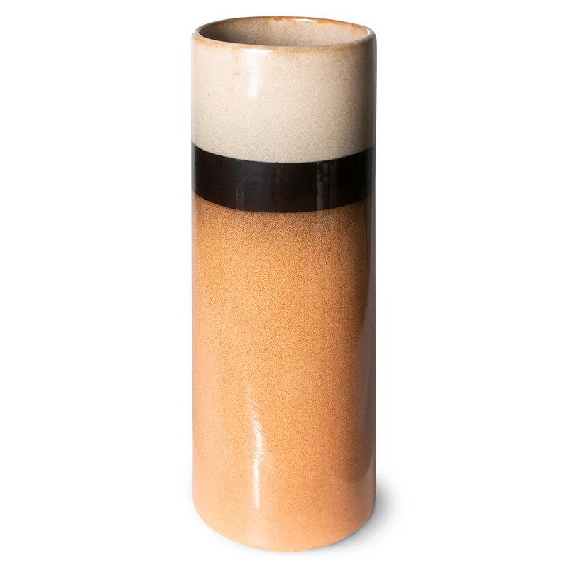 HKliving-collectie 70s ceramics: vase XL, tornado