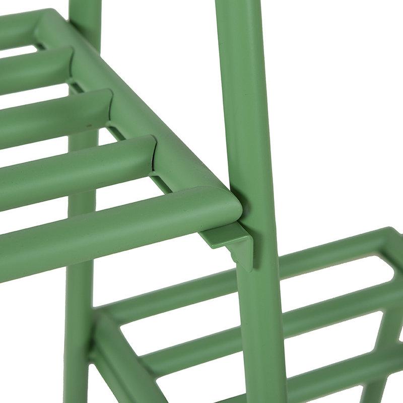 HKliving-collectie Kledingrek met hangers en haken fern groen