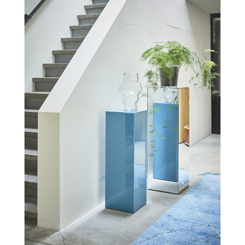 HKliving-collectie mirror pillar L clear