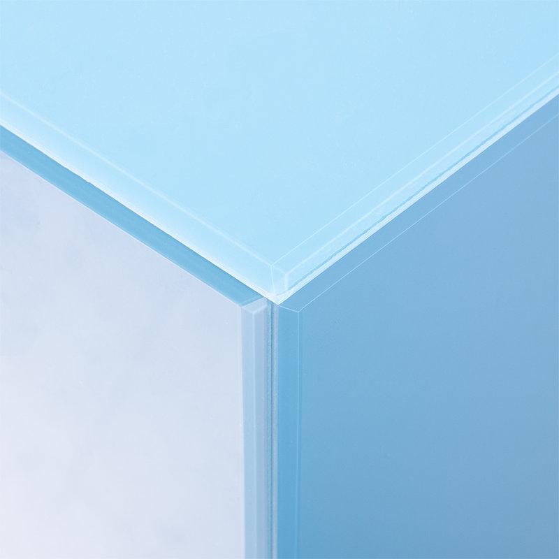 HKliving-collectie mirror pillar M blue