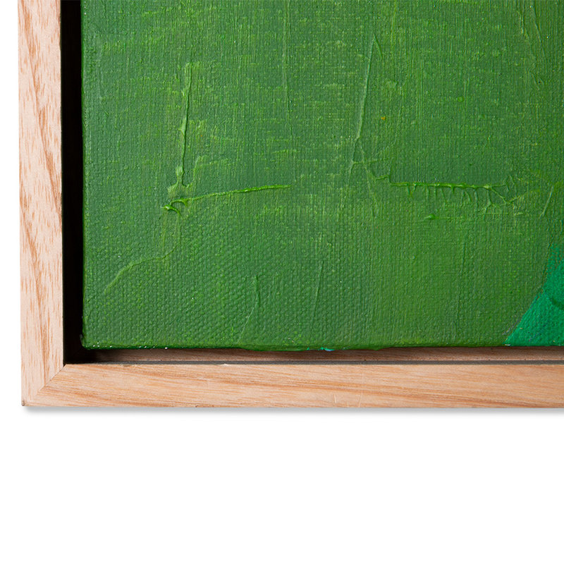 HKliving-collectie framed painting fresh nature 40x50cm