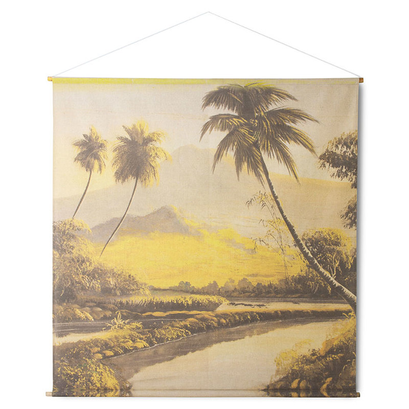 HKliving-collectie wall chart XXL jungle landscape